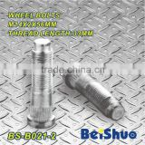 BS-B021-2,M14x2x56mm Knurled Wheel Stud Bolt
