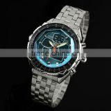 Brand New mens analog men wrist watch alarm sport quartz watch WM007-ESS