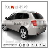 Smart car window screen tint and dyed film / original color