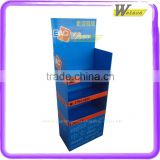 free magazine leaflet for hot sale product in supermarket corrugated paper stand display shelf