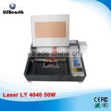 220V/110V LY 4040 CO2 Laser Engraving & cutting machine use for wood,MDF,acrylic,plastic,plexiglass,crystal,rubber,fabric...