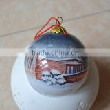 Inside painting Christmas Glass Ornament Ball                                                                         Quality Choice