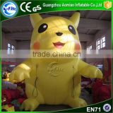Giant inflatable pikachu mascot costume inflatable pikachu for advertising                                                                                                         Supplier's Choice