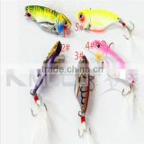 Chentilly CH14LP24 Metal VIB fishing lure 5.5cm 11g metal bait feather hook metal blade VIB fishing lure