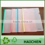 PP Clear Document File Bag Plastic Fastener Envelope High Quality Free Sample