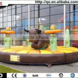 2014 newest game inflatable rodeo bull for kids and adults
