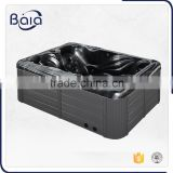 on sale high quality acrylic glass massage clear bathtub
