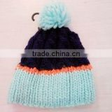 2012 fashion winter knitted hat(Circular weft knitting machine)