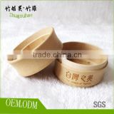 bamboo soap box with lid bathroom accessories