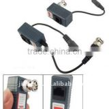 BNC Male UTP RJ45 Cat5 Power Supply Video Balun