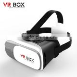 High quality New Products Portable 2nd Generation 3D VR BOX 2 Virtual Reality 3D Glasses for Blue Film Video