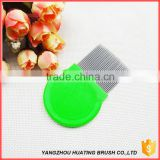 Anti lice comb supplier stainless steel nit cleaning Comb with long teeth