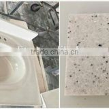 china artificial marble one piece stone vanity top