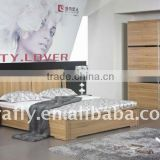 China modern gas lift up bedroom furniture