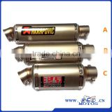 SCL-2016040049 Hot Selling China Supplier Motorcycle Exhaust Pipe Motorcycle Engine Muffler                                                                         Quality Choice