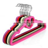 Customized hot sell heavy duty plastic hanger for adult size suit cloth/hot sell plastic hanger