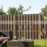 Low-carbon and environmental wpc fence,wood plastic composite/wpc fence boards,wpc garden fencing