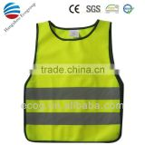 Reflective Safety vest with customized logo for kids. 2015 NEW!