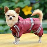 dog coat waterproof custom dog raincoat pet raincoat