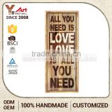 Newest Model Customized Logo Printed Wood Unfinished Wooden Pub Sign                                                                         Quality Choice