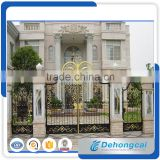 Luxury High Quality Aluminum Alloy Garden Gate with motor,courtyard security gate,Fence Gate,