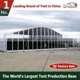 Tent Manufacturer New Design large luxury aluminum arch event tent With Lining And Curtain