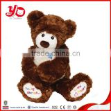 China YangZhou ICTI factory custom made plush teddy bear