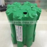 Ballistic spherical button rock carbide drill bits for hardened steel