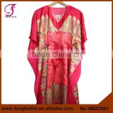 1902CD01 Medium Style With Belt Women Silk Satin Beautiful Kaftans on Sale