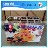 New Condition and Ice Cream Application Single Flat Pan Fried Ice Cream Machine, Fry Ice Pan Machine                                                                         Quality Choice