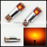 Amber T10 Canbus W5W LED Epistar 3SMD canbus Error Free yellow Car Auto LED Light Bulb Lamp Dashboard License Plate Panel Lights