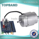 24v small electric motor low rpm bldc motor with speed controller
