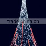 6 Led 50mm Addressable Programmable Ball Shape Full Color Outdoor Christmas Tree Ball Lights
