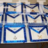 Masonic Regalia Apron Badge, Apron, Sash, Collar, Gloves