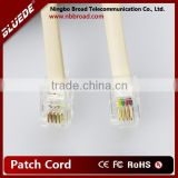 Telephone Handset Extension Coil Cord 4P4C