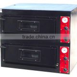 hot sale electric pizza oven conveyor(2-layer) / double convection pizza oven for restaurant