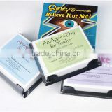 2014 high quality business import export business ideas table calendar printing