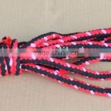 hot sale high quality wholesale price colorful nylon double braided Ropes with hook bicycle parts