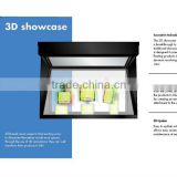 3D showcase 3d holographic displayers/ Hologram display showcases for event and exhibition
