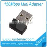 Mini 150M USB WiFi Wireless Network WI-FI Networking Card LAN Adapter with Antenna Computer Accessories