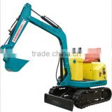 Children electric excavator 360/180/90 angle rotation mini excavator, kids ride on excavator for sale