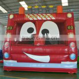 Used Commercial Fire Fighting Truck Inflatable Bouncer For Kids