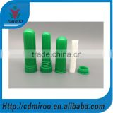 green blank inhaler sticks with cotton wick, colors blank inhaler sticks with high quality, nasal inhaler sticks with colors