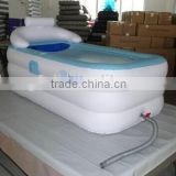 Inflatable adult bathtub,bule bathtub made of PVC, freestanding bathtub for adult. portable massage spa