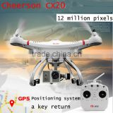 Hot Selling China Wholesale Cherson Quadcopter Drone GPS Cheerson CX-20