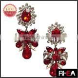 2015 dangle dream catcher design wholesale ruby earrings