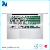 Custom Fashion Design Waterproof US Enter Silicone Keyboard Protector Cover For MacBook Air