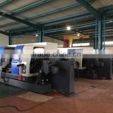 cnc turning center CNC450T double spindle cnc lathe machine and slant bed cnc lathe