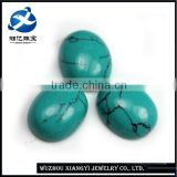 10*12MM oval shape iran green turquoise stones for sale