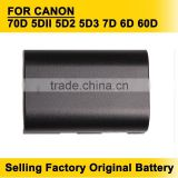 Hot Sellling LP-E6 LP E6 Camera Battery Batteries for Canon 70D 5DII 5D2 5D3 7D 6D 60D Free Shipping
